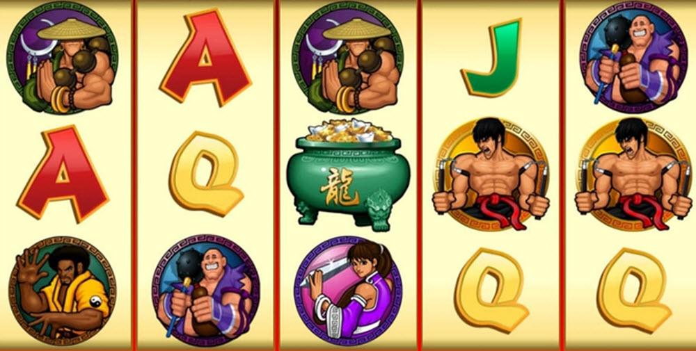 kung fu cash slot